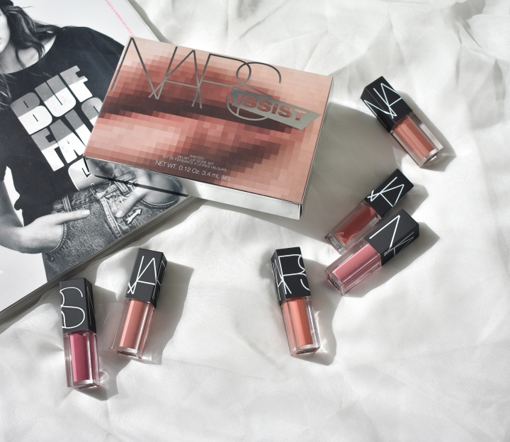 NARS NARSissist Wanted Velvet Lip Glide Set Review & Swatches