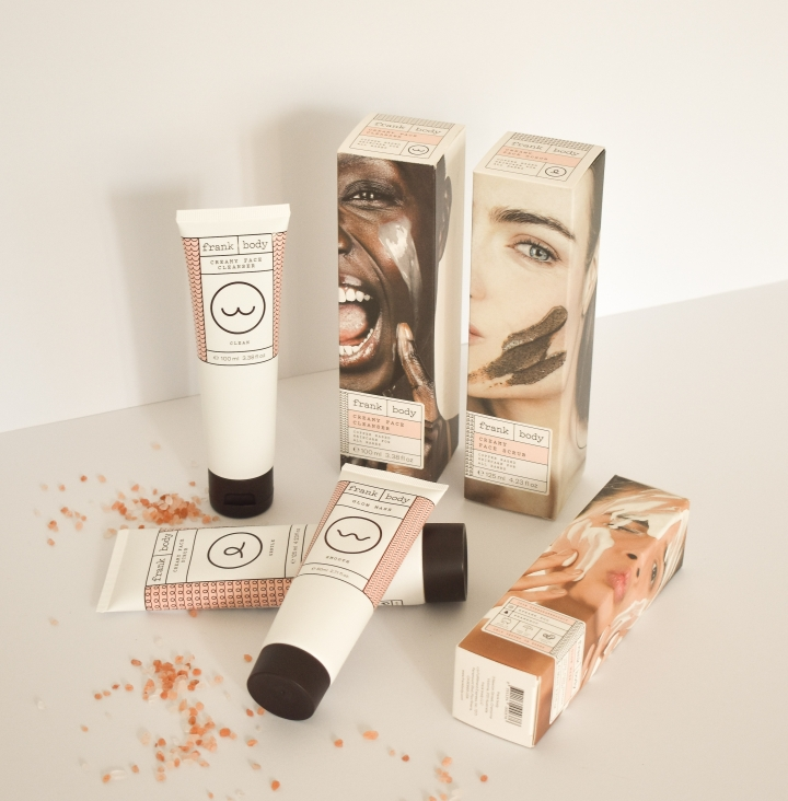 frank body skincare review creamy face cleanser, glow mask, creamy face scrub