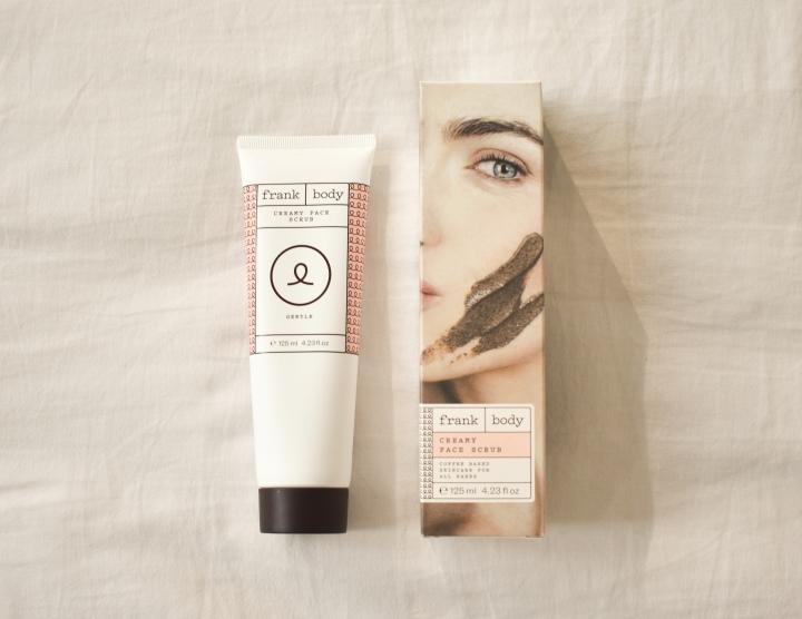 frank body creamy face scrub review