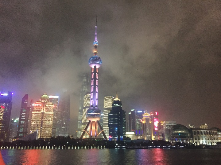 Shanghai travel the bund Huangpu river cruise