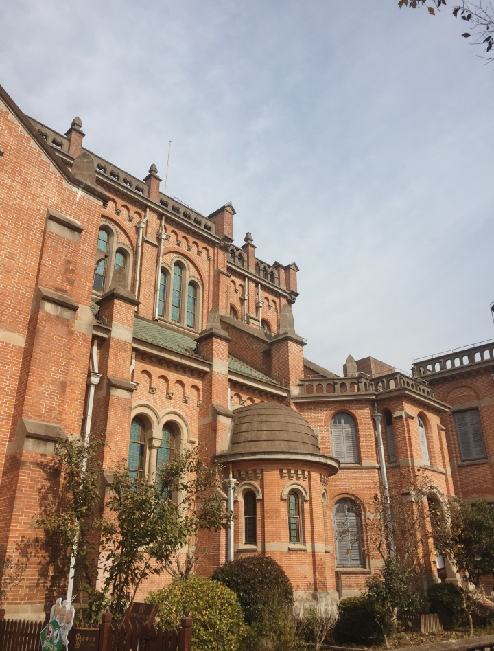 Shanghai Sheshan National Forest Park Basilica travel