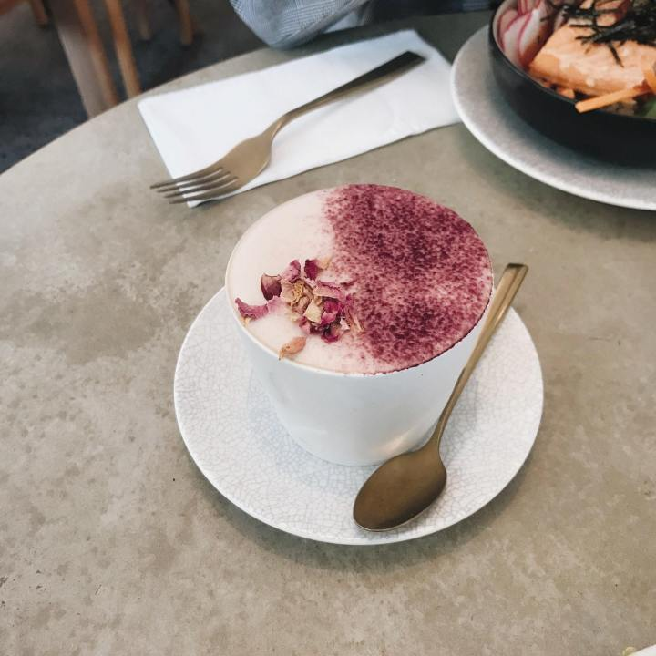 Turkish Delight Latte
