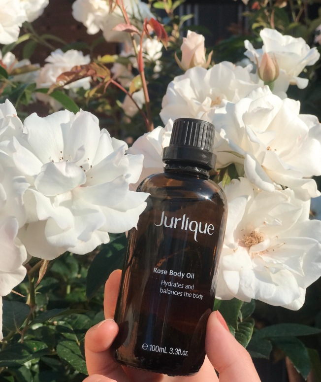 Jurlique rose body oil australian skincare natural organic