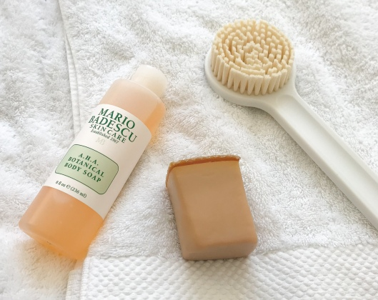 mario badescu a.h.a. botanical body soap LUSH honey i washed the kids